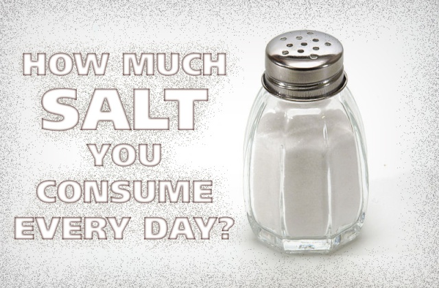 How much SALT you consume every day?